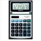 8 Digit Metal Face Tilt Head Wallet Calculator