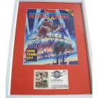 1985 Chicago Bears autographed Super Bowl 20 preview magazine cover framed Richard Dent Mike Ditka Dan Hampton Jim McMahon William Perry Mike