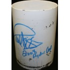 2008 Ryder Cup Valhalla hole 17 cup liner autographed by Paul Azinger