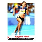 Allyson Felix 2011 Sports Illustrated for Kids card