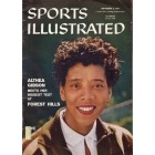 Althea Gibson 1957 Sports Illustrated (U.S. Open tennis preview issue)