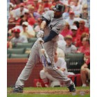 Carl Crawford autographed Tampa Bay Rays 16x20 poster size photo