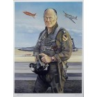 Chuck Yeager autographed 25x37 inch lithograph (limited edition of 1400)
