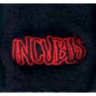 Incubus black embroidered wristband NEW