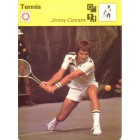 Jimmy Connors 1977 Sportscaster Rookie Card