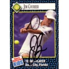 Jim Courier autographed 1992 Sports Illustrated for Kids tennis card