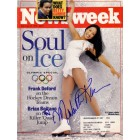 Michelle Kwan autographed 1998 Winter Olympics Preview Newsweek magazine